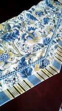 Waverly 2 Valances Floral and Stripes Beautiful