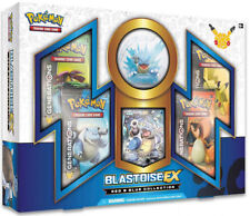 BLASTOISE EX Red and Blue Collection Box POKEMON TCG 20th Anniversary Generation