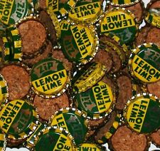 Soda pop bottle caps Lot of 25 ZIP LEMON LIME cork lined Edgar Wisconsin unused