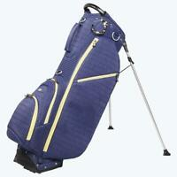 Ouul Ribbed Stand Bag - Navy*Single Strap*