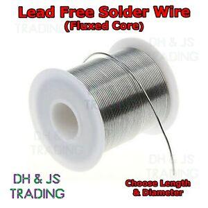 Lead Free Solder Wire Fluxed Core General Purpose Plumbing Flux Soldering