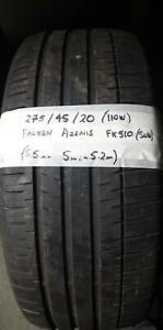 275 40 20 (110W) Falken Azenis FK 510  *SUV* Part Worn tyre