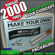 2000 MAKE YOUR OWN Cigarette Filter Tubes - The New MYO Concept