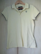 ladies G-STAR RAW YELLOW COTTON POLO SHIRT SIZE LARGE