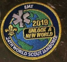EMT IST Badge Patch Staff 2019 24th World Scout Jamboree Mondial Official