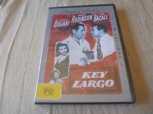 Key Largo (DVD, 2010) Region 4 BRAND NEW SEALED Humphrey Bogart