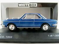 WhiteBox WB120 BMW 2000 CS (1966) in blaumetallic 1:43 NEU/OVP