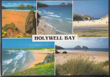 Cornwall Postcard - Views of Holywell Bay, Cubert, Near Newquay  RR5909