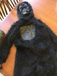 Details about  /Gorilla Halloween Costume for Kids Cosplay Costume Parties