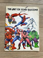 More details for the art of john buscema, 1978 first issue, spiderman hulk thor captain america
