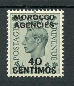 Morocco Agencies 1937-52 40c  on 4d grey-green SG169 MNH cat £40