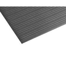 Teknor-Apex Comfort Rest Ribbed Foam Mat 3 Feet x 5 Feet, Coal Black