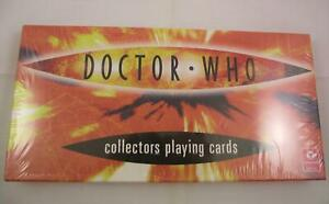1 x  Doctor Who Collectors Playing Cards  3 Decks Series 1, 2 & 3 Sealed In Box