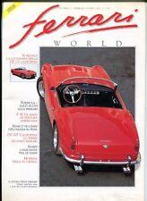 Rivista FERRARI WORLD Il mondo delle Ferrari N.5 Febbraio/Marzo 1990