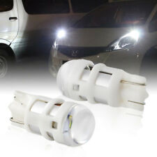 1Pair Cool White T10 W5W 2825 LED Bulbs For Parking City Lights (Position lamps)