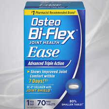 Osteo Bi Flex Joint Health Advanced Triple Action 70 Mini Tabs 1 A Day Exp 1/21