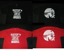 Zz Top 1974 Texas-Size Rompin' Stompin' Barndance & Bar-B-Q T Shirt Red Or Black