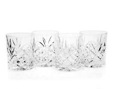 Dublin Double Old Fashioned Glasses Godinger Set of 4 One Size 8 Ounces Capacity