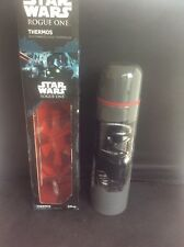 Rare Collectable Boxed Disney Star Wars Rogue One Thermos Flask Stainless Steel