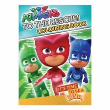 NEW PJ Masks to the Rescue Colouring Book