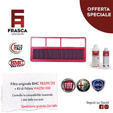 Filtro Aria Sportivo BMC Originale FB359/20 + KIT Pulizia WA250-500