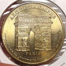 Souvenir Medallion, Arc de Triomphe, Struck by Paris Mint   1222-06