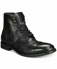 Frye Mens Ben Cap Toe Side Zip Lace Up Business Casual Dress Ankle Boots