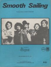 "THE DINGOES   Rare 1977 Aust Only Original OOP Prog Sheet Music ""Smooth Sailing"""