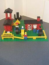 LEGO 372  TEXAS RANGERS VINTAGE SET PARTS ONLY PLEASE READ