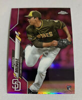 2020 Topps Chrome Andres Munoz Pink Refractor Rare RC Rookie Padres
