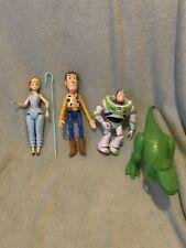 Toy Story Figure Bundle - Rex, Bo Peep, Woody & Buzz