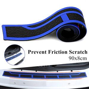 "Universal 35"" Car Rear Body Guard Bumper Protector Trim Cover Anti-scrape Rubber"