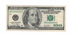 "US Banknote $100 Dollars Bill 2003 "" B-2 New York "" VF - XF. (#1433)"
