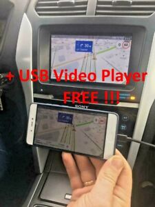 Ford & Lincoln MyTouch Sync 2 MirrorLink Android + USB Video Player FREE