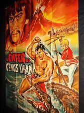 maciste DANS L'ENFER DE GENGIS KHAN mark forest affiche cinema 1964