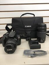 Canon EOS Rebel T6 DSLR Camera 1159C008 with 18-55mm & 75-300mm Bundle 16GB SD