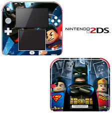 Vinyl Skin Decal Cover for Nintendo 2DS - Batman Super Heroes