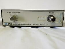 Hp 85044B 75 Ohm Transmission/Reflection Test Set