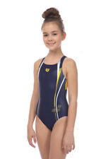 ARENA - G ROY JR SWIM PRO BACK - NAVY/LILY YELLOW SIZE 26 (001765-703) -50% OFF