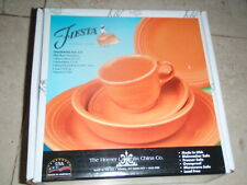 Fiesta 5-Piece Place Setting TANGERINE NEW IN BOX RETAILS $56.00