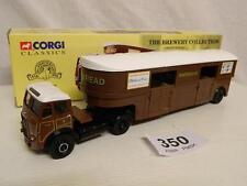 Corgi 1:50 Seddon Atkinson Artic Horse Transporter Bx 27701