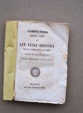 San Luigi Gonzaga Vita Gesuiti Buone Operette Modena Compagnia Gesù 1845