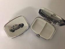 HONDA MUGEN BEAT HARD TOP r96 Peltro Effetto CAR Emblem in Metallo Argento Pillola Casella