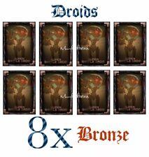 Topps Star Wars Card Trader - DROIDS - 8x SUPER BATTLE DROID (Bronze) *Digital