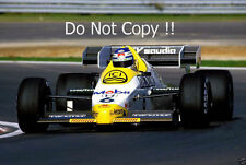 Keke Rosberg Williams FW09 F1 Season 1984 Photograph 1