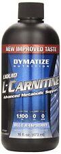 Dymatize Nutrition Liquid L-Carnitine 1100, Blue Raspberry, 16 Ounce