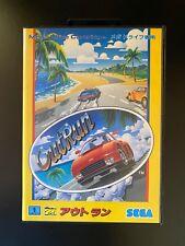 Used OUTRUN Out Run Sega Mega Drive Game Japanese Genesis Import US Seller