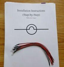 Yamaha Receiver LED Lamp Light Bulb Repair Kit CR1020 1020 CR2020 2030 CR3020