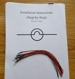 Yamaha Receiver LED Lamp Light Bulb Repair Kit CR3020