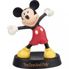 $ PRECIOUS MOMENTS DISNEY Figurine MICKEY MOUSE Porcelain Statue THE ONE & ONLY